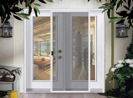 Mosquito repellent systems - screens